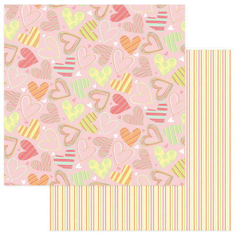 Photo Play Papers - About a Little Girl - So Sweet - 2 Sheets