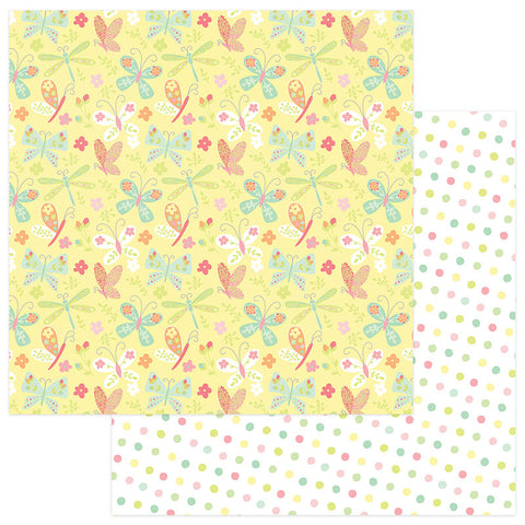 Photo Play Papers - About a Little Girl - Flutter - 2 Sheets