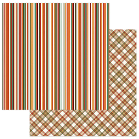 Photo Play Papers - Autumn Orchard - Cozy - 2 Sheets