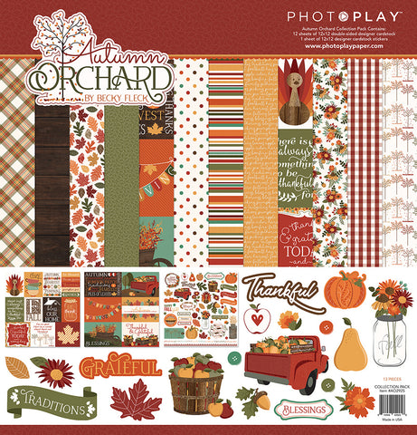 Photo Play Paper Collection Kit - Autumn Orchard
