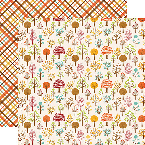 Echo Park Papers - A Perfect Autumn - Woodland Walk - 2 Sheets