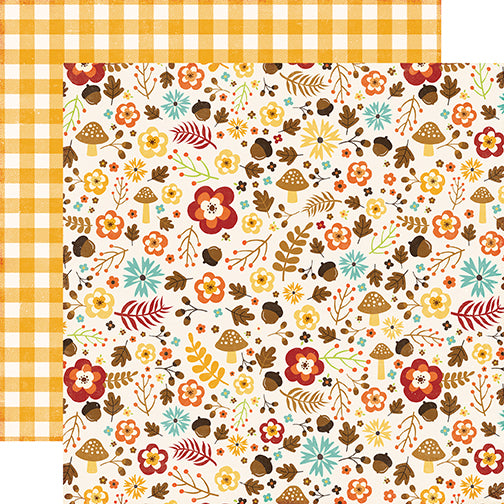 Echo Park Papers - A Perfect Autumn - Autumn Garden - 2 Sheets