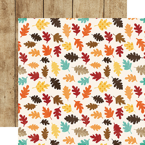Echo Park Papers - A Perfect Autumn - Lovely Leaves - 2 Sheets
