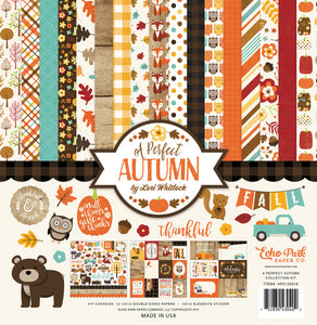 Echo Park Collection Kit - A Perfect Autumn