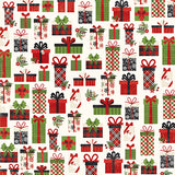Echo Park Papers - A Perfect Christmas - Jolly Presents - 2 Sheets