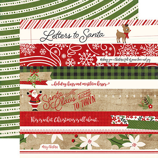 Echo Park Cut-Outs - A Perfect Christmas - Border Strips