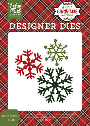 Echo Park Designer Dies - A Perfect Christmas - Christmas Snow
