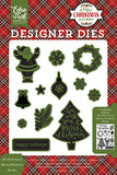 Echo Park Stamp and Die Set - A Perfect Christmas - We Wish You a Merry Christmas