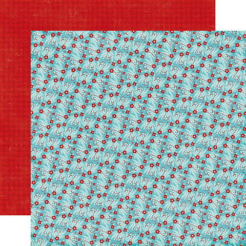 Echo Park Papers - A Perfect Winter - Winter Berries - 2 Sheets