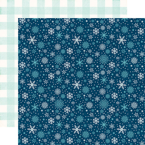 Echo Park Papers - A Perfect Winter - Snowy Night - 2 Sheets