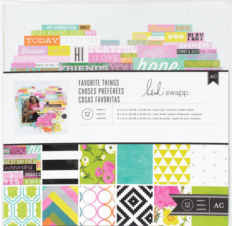 Heidi Swapp Collection Kit - Favorite Things