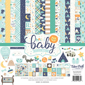 Echo Park Collection Kit - Hello Baby Boy