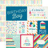 Echo Park Cut-Outs - Birthday Wishes Boy - Journaling Cards
