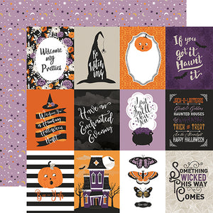Echo Park Cut-Outs - Bewitched - 3x4 Journaling Cards