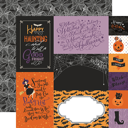 Echo Park Cut-Outs - Bewitched - Journaling Cards