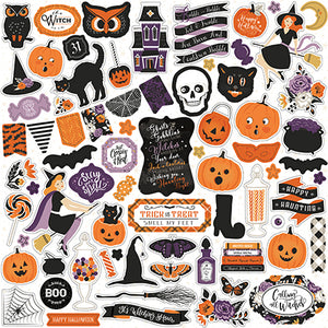 Echo Park 12x12 Cardstock Stickers - Bewitched - Elements