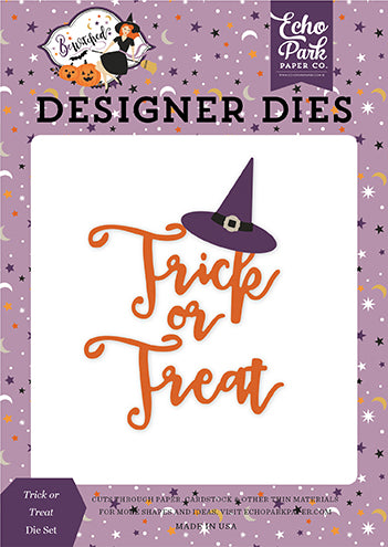 Echo Park Designer Dies - Bewitched - Trick or Treat Hat Die Set