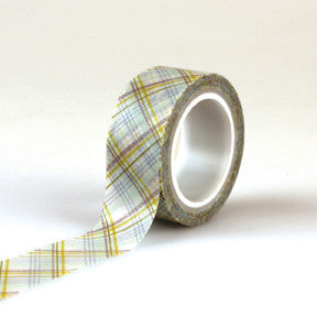 Echo Park Washi Tape - Bundle of Joy Boy - Plaid Boy