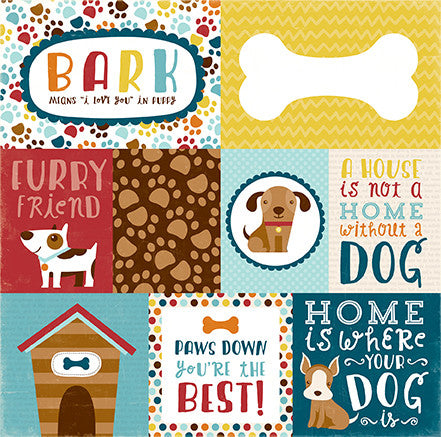 Echo Park Cut-Outs - Bark - Journaling Cards