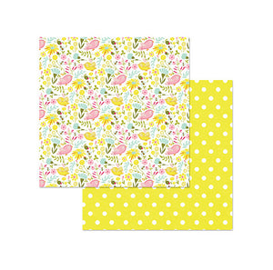 Photo Play Papers - Bloom - Birds & Bees - 2 Sheets