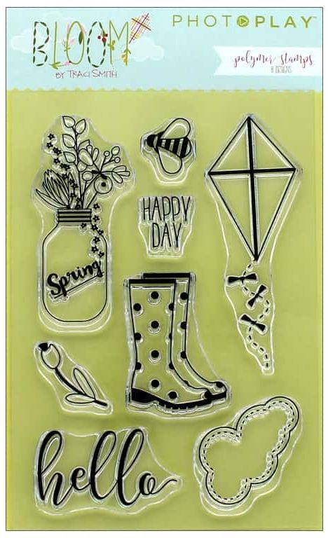 Photo Play Clear Stamp Set - Bloom