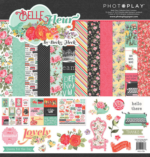 Photo Play Paper Collection Kit - Belle Fleur