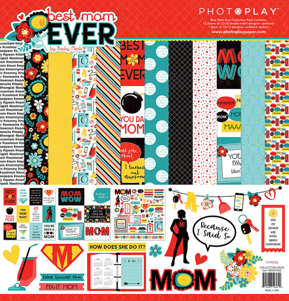 Photo Play Paper Collection Kit - Best Mom Ever