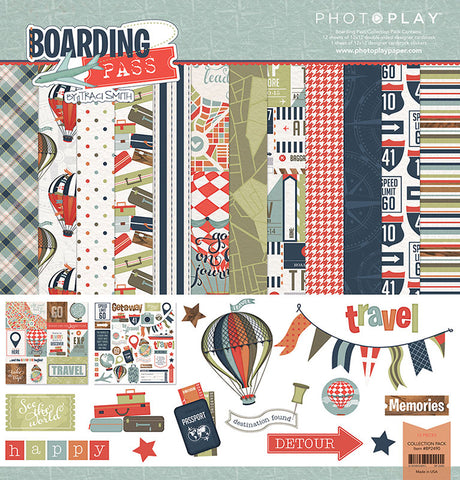 Photo Play Paper Collection Kit - Boarding Pass