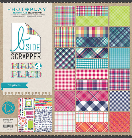 Photo Play Paper Collection Kit - Mad 4 Plaid Delightful