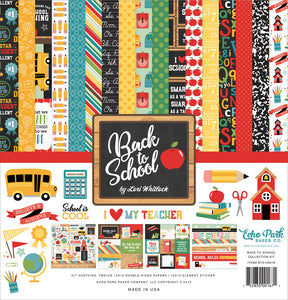 Echo Park Collection Kit - Back to School