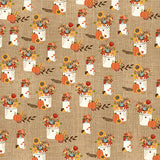 Echo Park Papers - Celebrate Autumn - Thankful Flowers - 2 Sheets