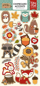 Echo Park Chipboard - Celebrate Autumn - Accents