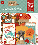 Echo Park Frames & Tags Die-Cuts - Celebrate Autumn