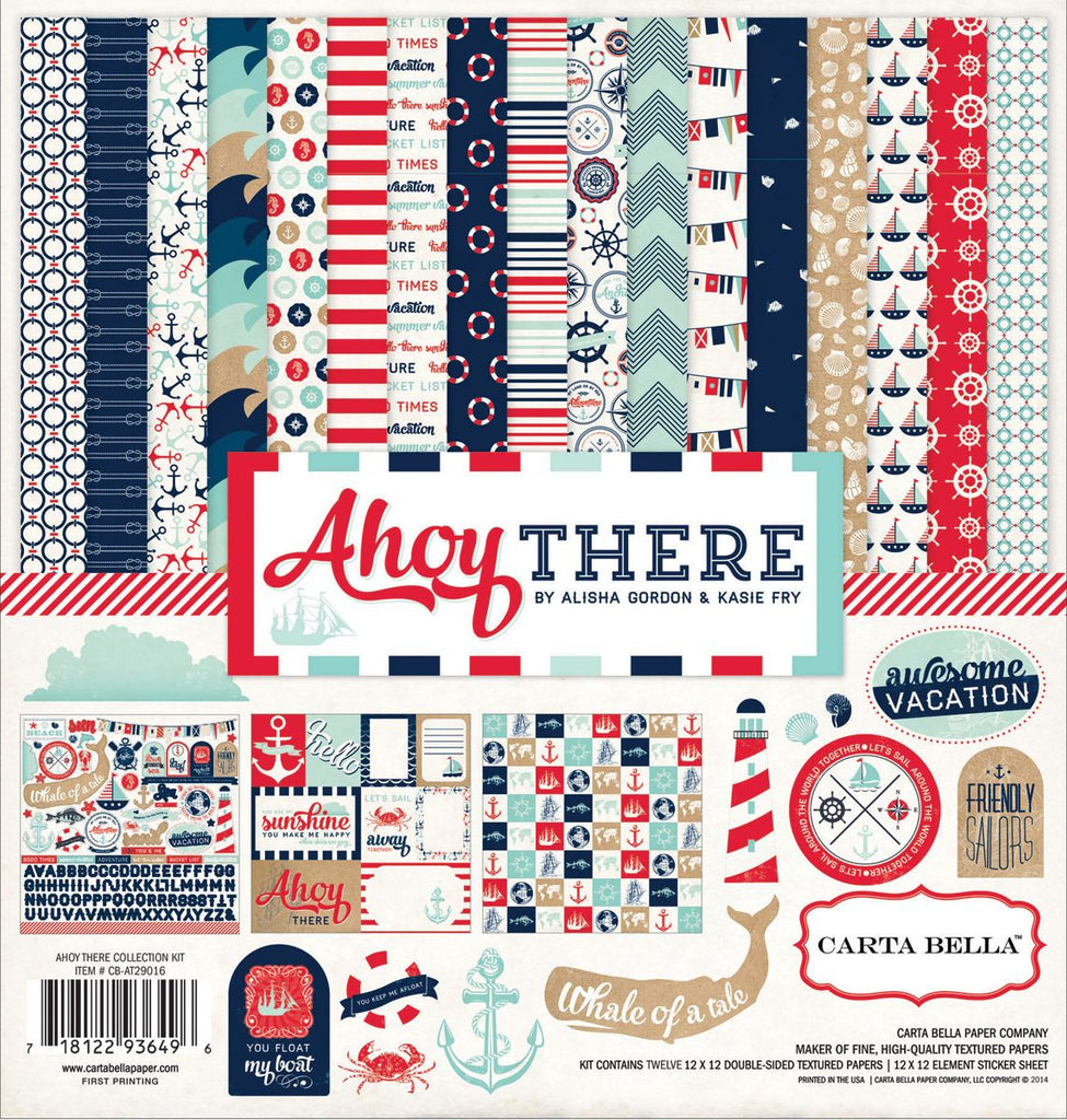 Carta Bella Collection Kit - Ahoy There
