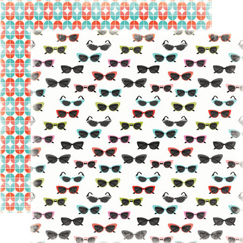 Carta Bella Papers - Summer Lovin' - Sunglasses - 2 Sheets