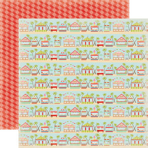 Carta Bella Papers - Summer Lovin' - Boardwalk - 2 Sheets