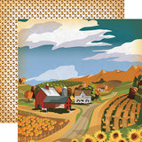 Carta Bella Papers - Autumn - Harvest Season - 2 Sheets