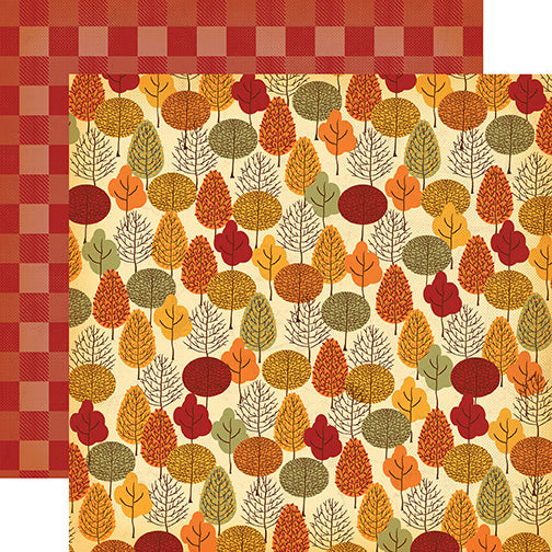 Carta Bella Papers - Autumn - Fall Forest - 2 Sheets