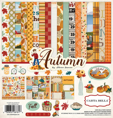 Carta Bella Collection Kit - Autumn