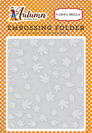 Carta Bella Embossing Folder - Autumn - Crisp Autumn
