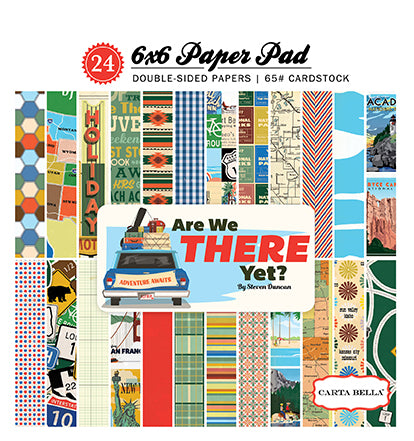 Carta Bella 6x6 Pad - Are We There Yet