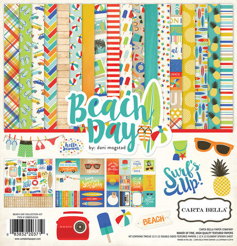 Carta Bella Collection Kit - Beach Day