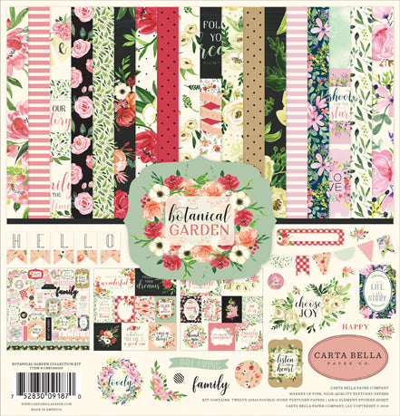 Carta Bella Collection Kit - Botanical Garden