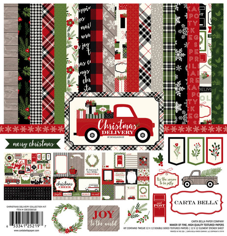 Carta Bella Collection Kit - Christmas Delivery