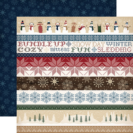 Carta Bella Cut-Outs - Cabin Fever - Border Strips