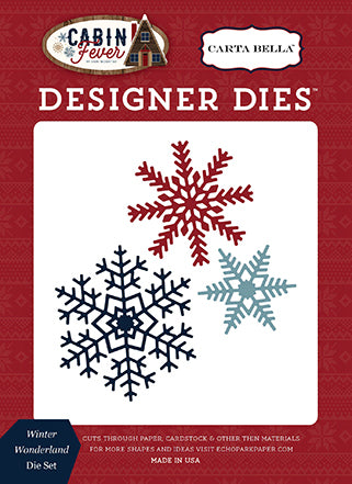 Carta Bella Designer Dies - Cabin Fever - Winter Wonderland Set