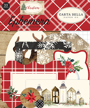 Carta Bella Ephemera Die-Cuts - Christmas