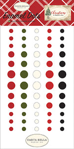 Carta Bella Enamel Dots - Christmas