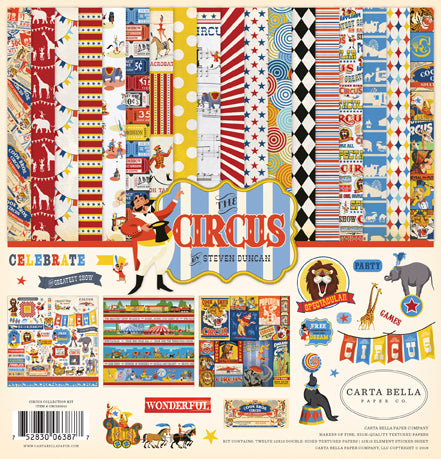 Carta Bella Collection Kit - The Circus