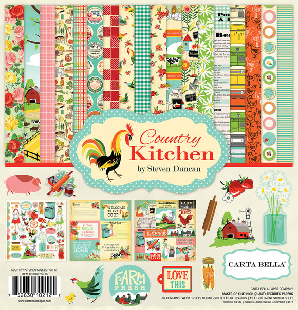 Carta Bella Collection Kit - Country Kitchen